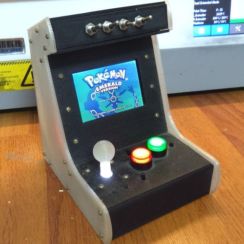 Arcade Cabinet for GBA advance SP - real working 3D Printing 37309