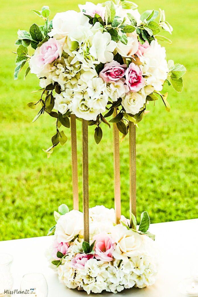 Nigerian wedding centerpiece idea
