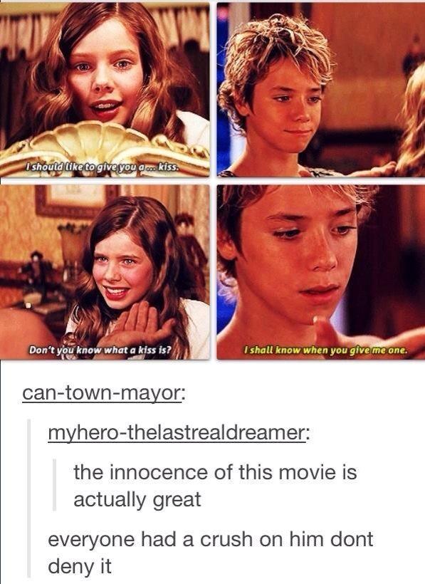 Aw! such a cute movie