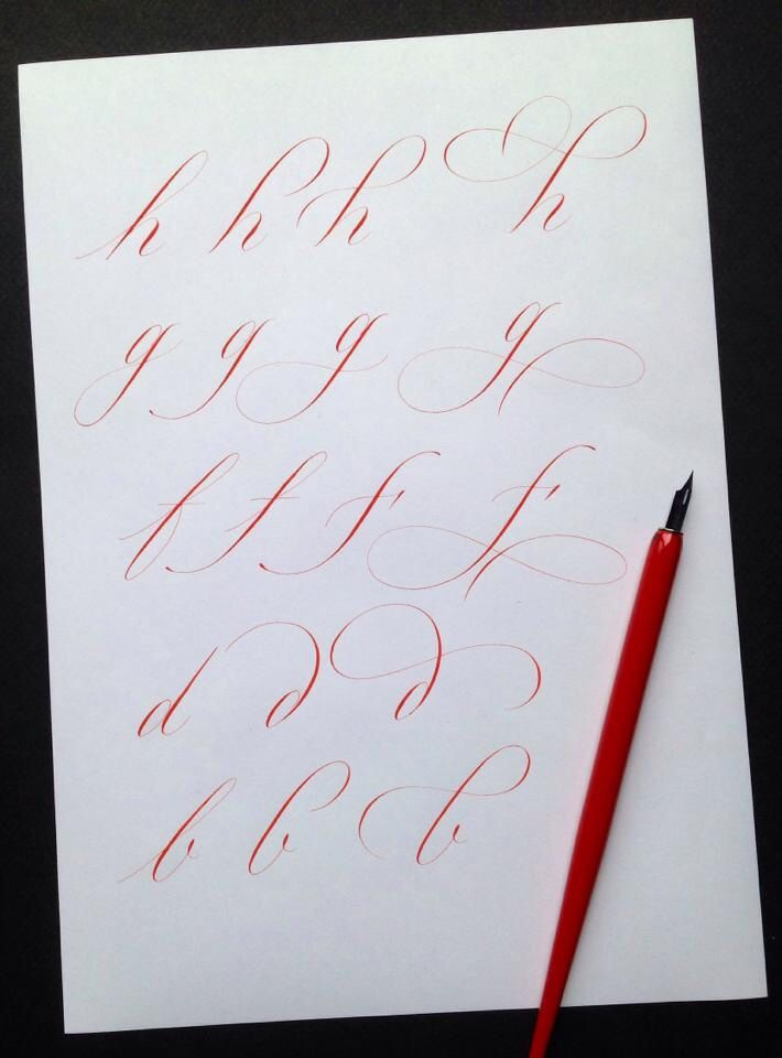 Rachel Yallop Calligraphy and Lettering