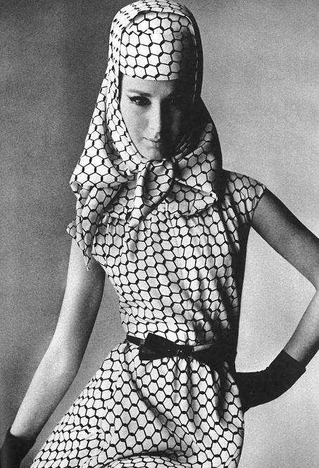 Vogue US February 1965  Brigitte Bauer by Irving Penn