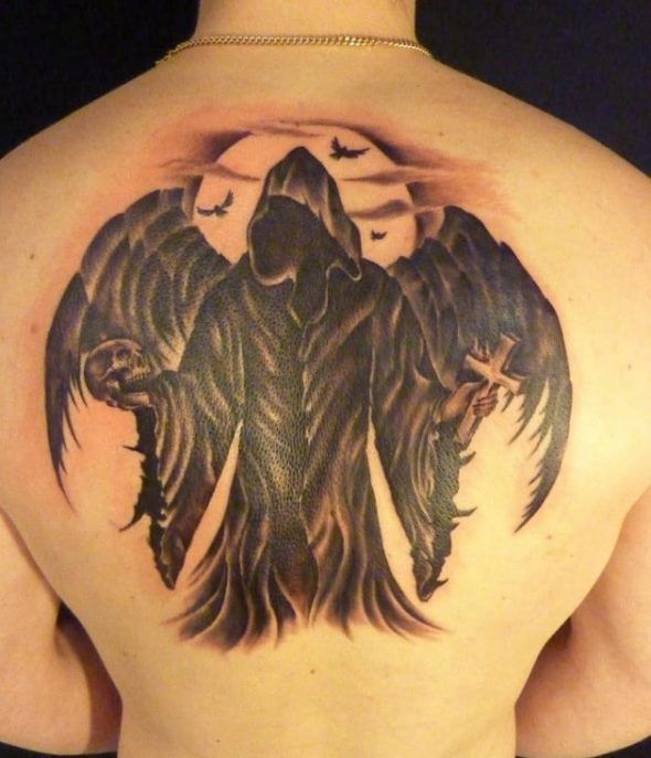 Tattoo Ideas Death: 30 Best Angel Of Death Tattoo Images On Pinterest