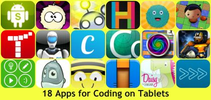 "Education Apps... Apps for Coding on Tablets - from UK Ed Chat ("",)"