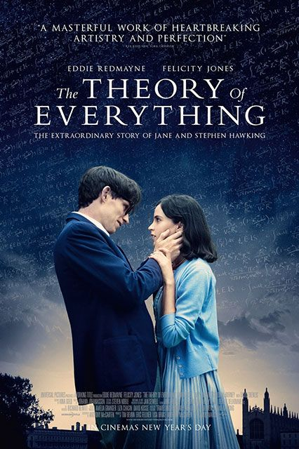 Watch These Oscar Nominees Now #refinery29  http://www.refinery29.com/2015/02/80827/watch-oscar-nominees-online#slide-17  The Theory of Everything is the Golden Globe winning (Best Actor in a Motion Picture, Drama) biopic about Stephen Hawking (Eddie Redmayne) and his incredible relationship with his former wife Jane (a stunning Felicity Jones). Nominations: Best Picture, Actor in a Leading Role (Eddie Redmayne), Actress in a Leading Role (Felicity Jones), Music - Original Score, Adapted…