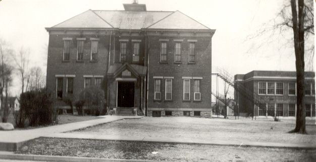 old pictures of blanchester ohio   blanchester high school 1 main street blanchester ohio demolished gone