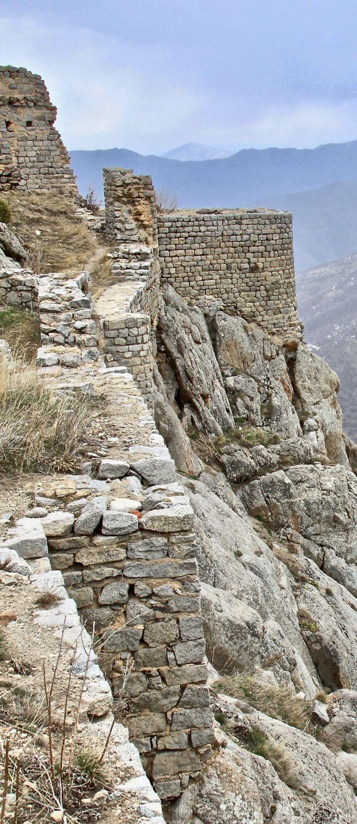 Fortifications of Babak Castle, Iran