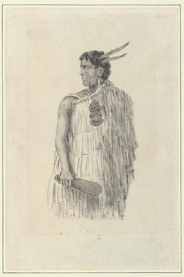 Hone Heke, New Zealand [picture] - Part of Robley, Horatio Gordon, 1840-1930. Maoris, New Zealand, 1864-1896