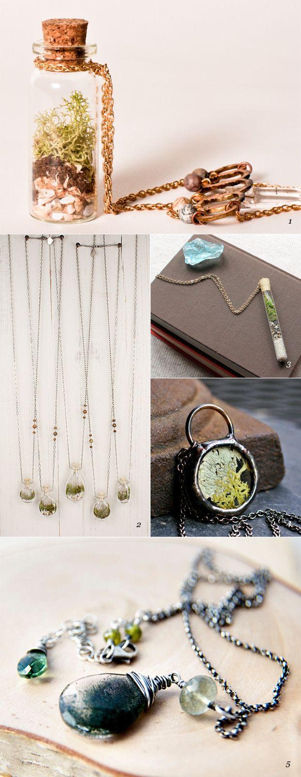 terrarium necklaces