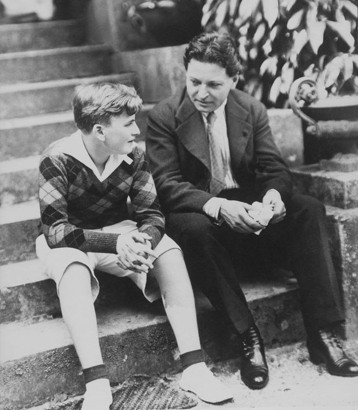 Yehudi Menuhin & George Enescu 1955