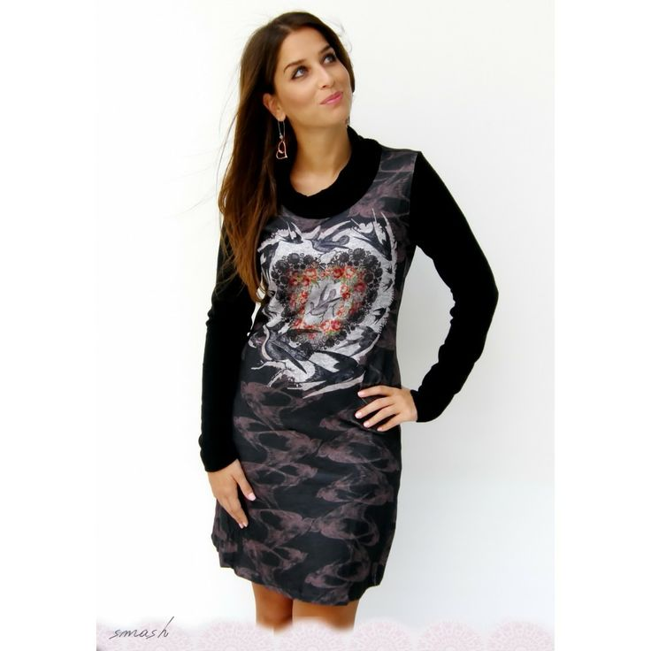 Black Damalis Smash Dress