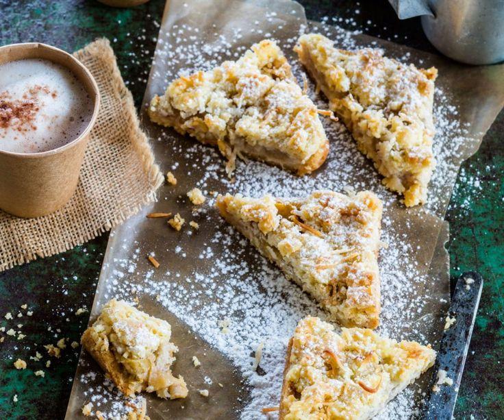 Feijoa crumble slice By Nadia Lim