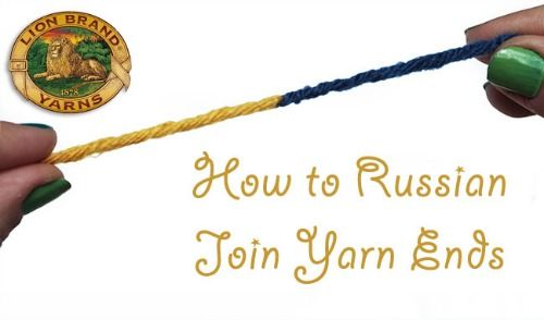 Knitting Russian Join Yarn : Crochet a day fab tips and tricks yarns