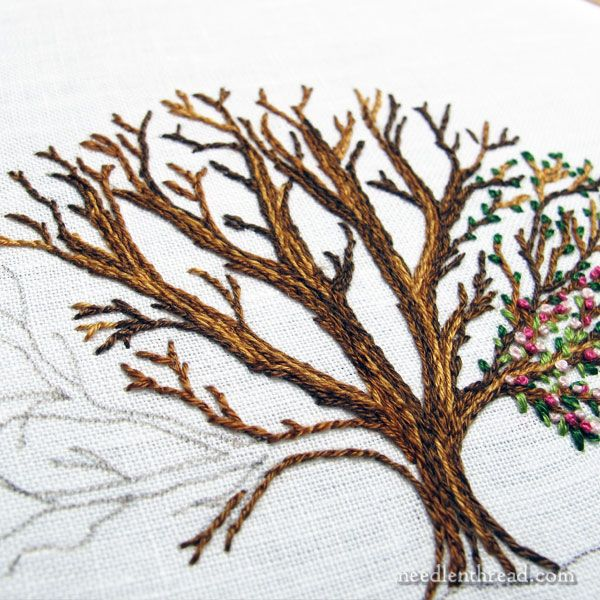 Keeping a notebook of embroidery projects