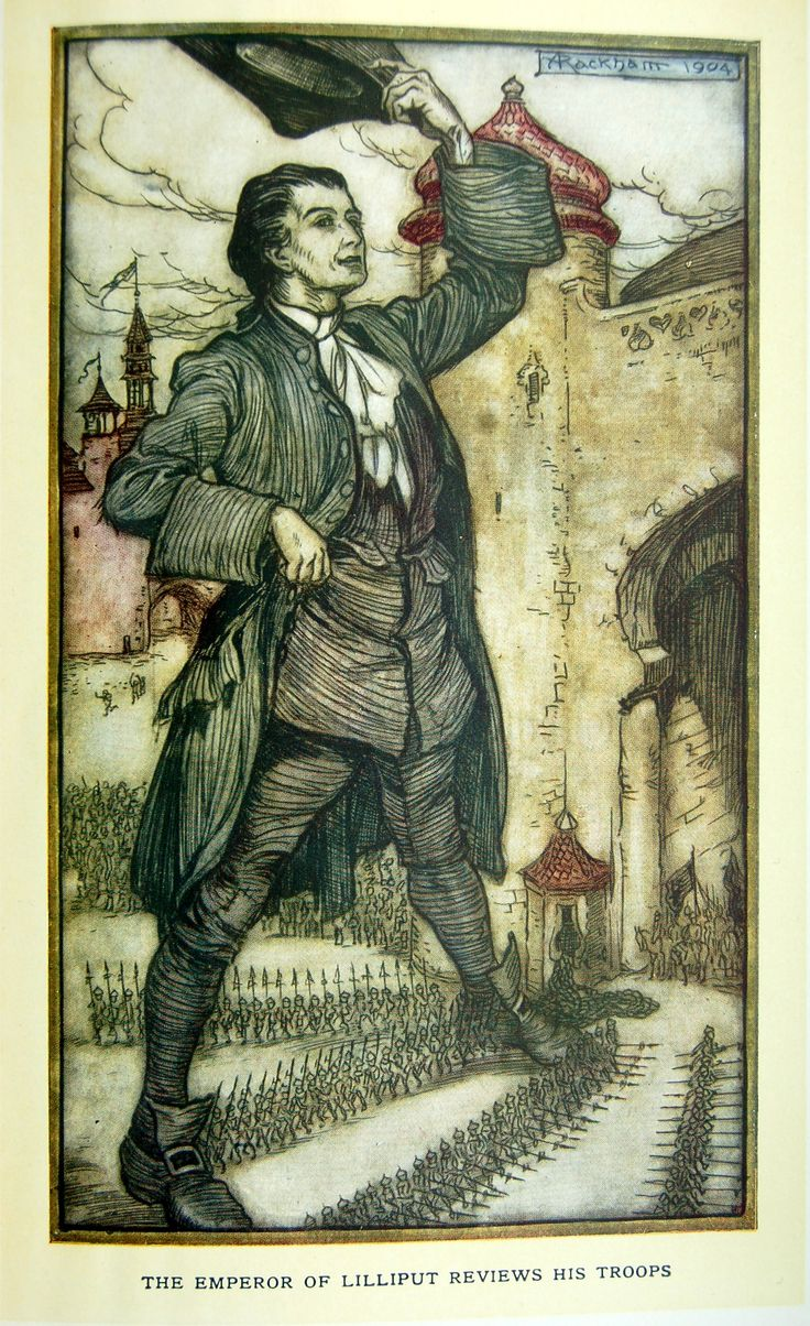 an examination of gullivers travels by jonathan swift Gulliver's travels, a misanthropic satire of humanity, was written in 1726 by jonathan swift like many other authors, swift uses the journey as the backdrop for his.