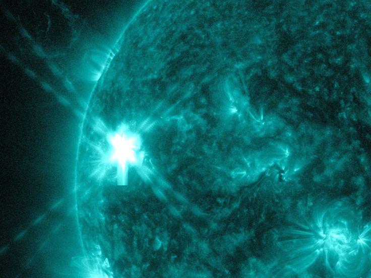 NASA's captures solar flare