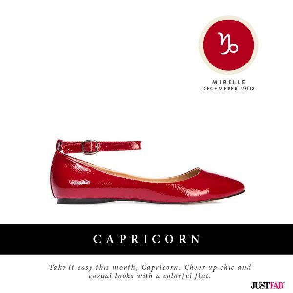 JustFab StyleScope| December Fashion Horoscope for  Capricorn