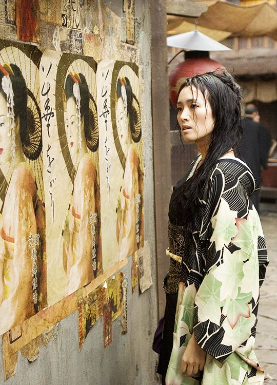 Gong Li in 'Memoirs of a Geisha' (2005).