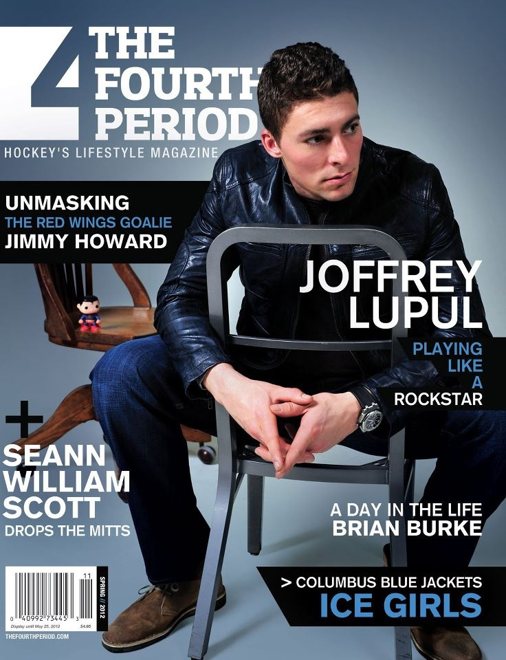 Joffrey Lupul: Playing Like A Rockstar. In The Fourth Period. (Also featuring a piece about the Columbus Blue Jackets' Ice Girls!)