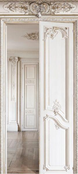 Haussmann perspective 2 - Trompe l'oeil wallcovering