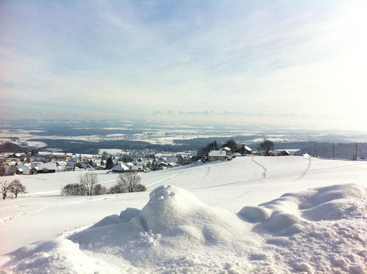 9. Feb 2013 - Balmberg - The way to...