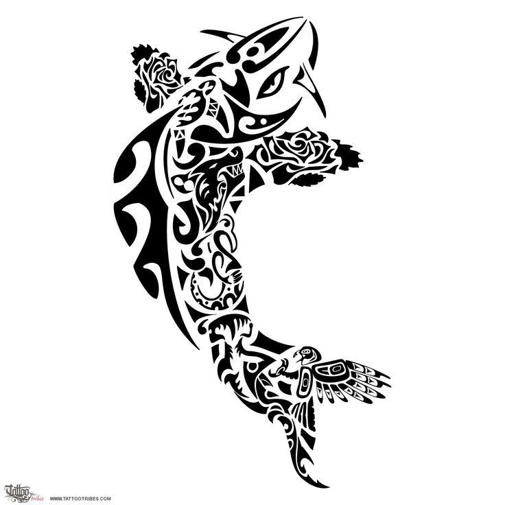TATTOO TRIBES - Shape your dreams, Tattoos and their meaning - koi, carp, aquila, lupo, squalo martello, manaia, onde, tartaruga, manta, ohana, koru, rosa, famiglia, perfezione, fierezza, caparbietà, tenacia, protezione, continuità, fedeltà