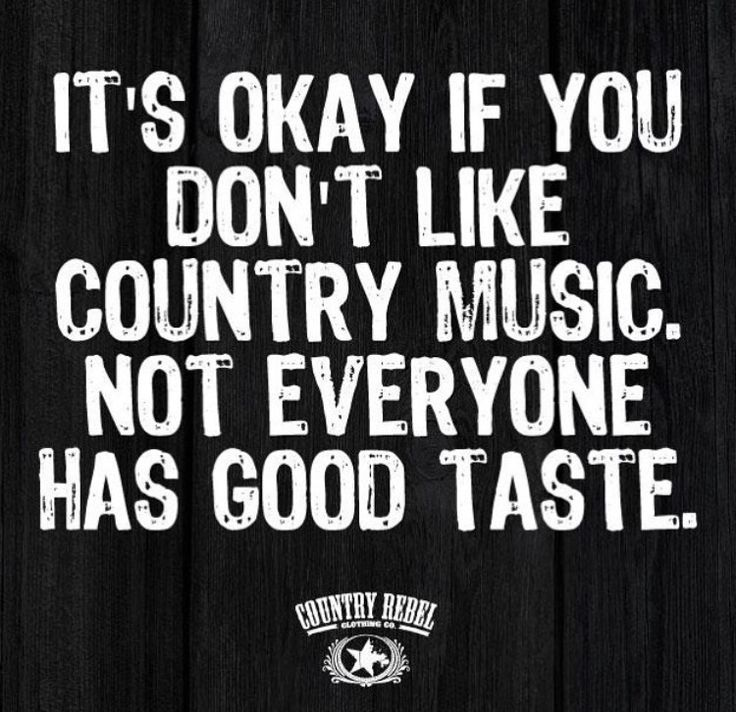 Why you would turn your nose up at a Christian Country song. . .I just don't get it. . . . .