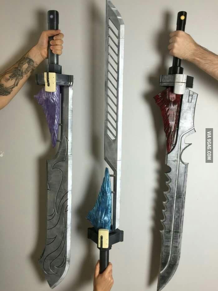 Exotic Swords!