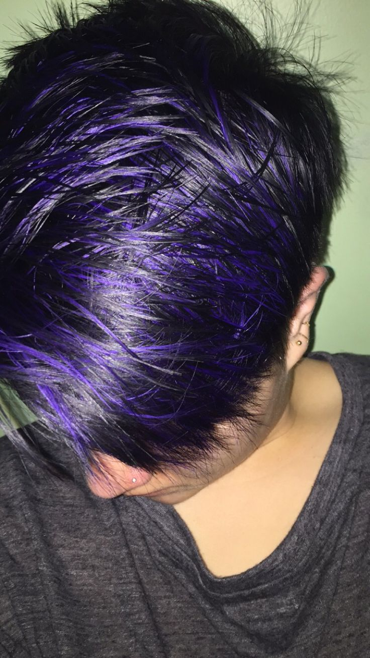 30 Mens Hairstyles With Purple Highlights Hairstyles Ideas Walk