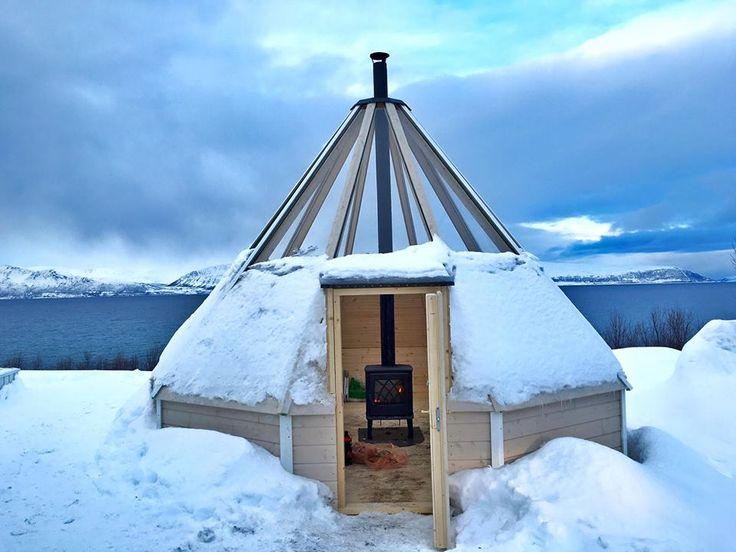 #Lyngen Alpes, #Tromso, #Norvège