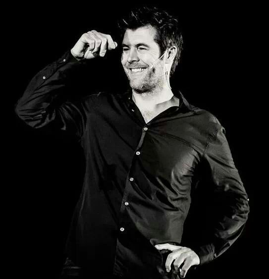 comedian Rhod Gilbert funny, great voice and just a bit sexy