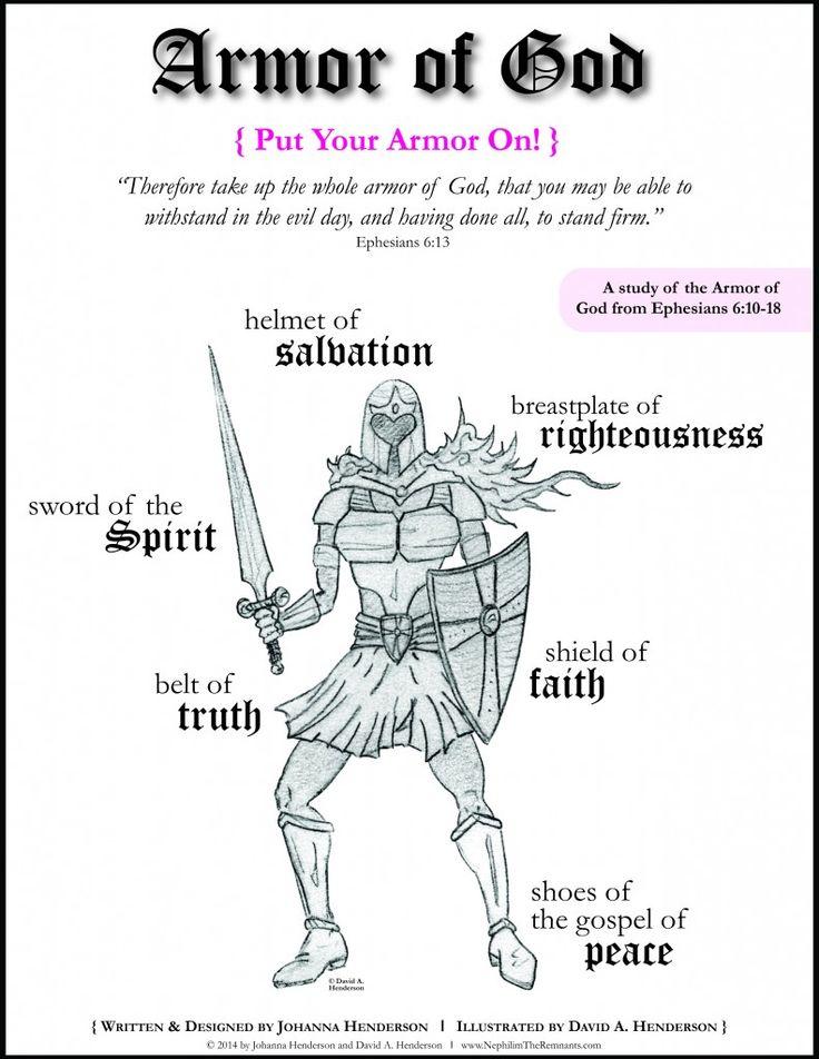 FREE Girl and Boy Armor of God Bible Study