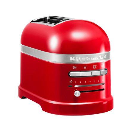 Kitchen Aid KitchenAid - Artisan Toaster 5KMT2204E, 2 Scheiben, medaillon silber Silber T:18 H:22 B:33