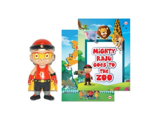 Buy Mighty Raju Action Figure for (4-10 Years) online in India at best price from GreenGoldStore.com. Shop figures and playsets for babies & kids with free shipping in India. COD options available  Buy Mighty Raju Goes To The Zoo,comic books sale online, comic books sales online, comic books shop online, comic books shops online at GreenGoldStore.com  Your beloved superhero Mighty Raju is back. Set out on exciting adventures with him and also learn something new with this unique series of…