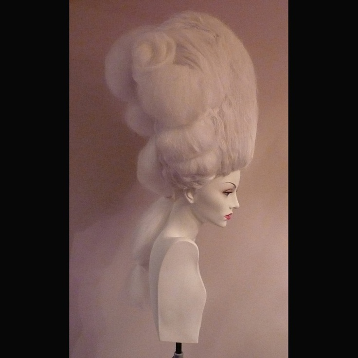 QUEEN Macaroni Dandy Wig Reserve for Prince Poppycock. $250.00, via Etsy.