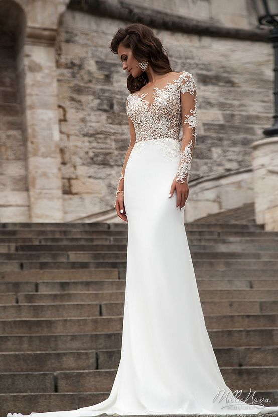 Mermaid Wedding Dresses In Chicago : Best images about milla nova collection on