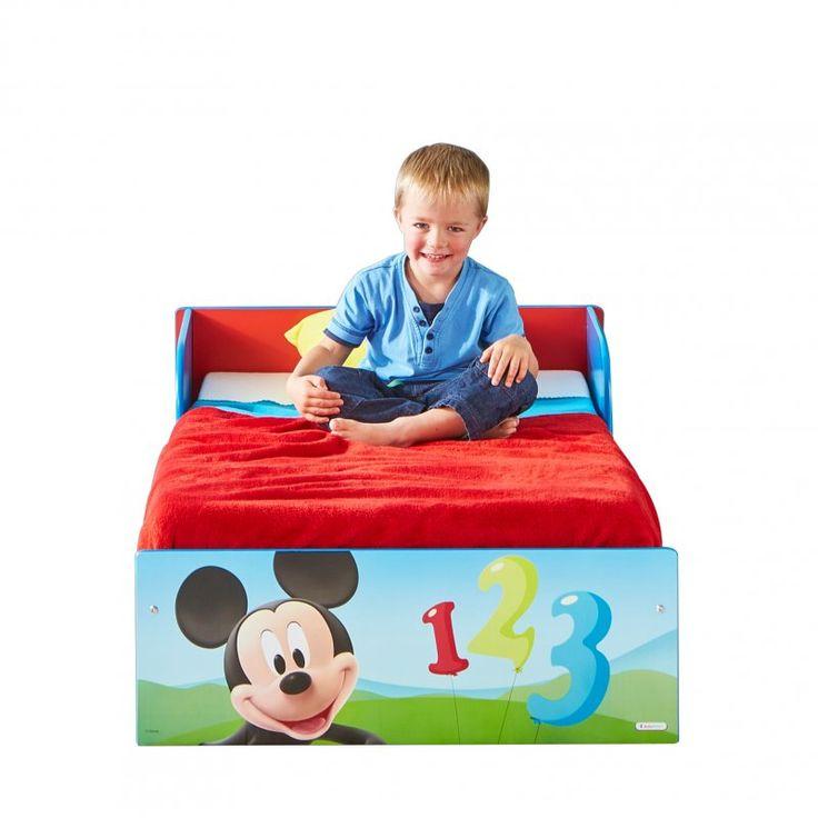 camas infantiles cama mickey disney madera para nios mkie no incluye colchn