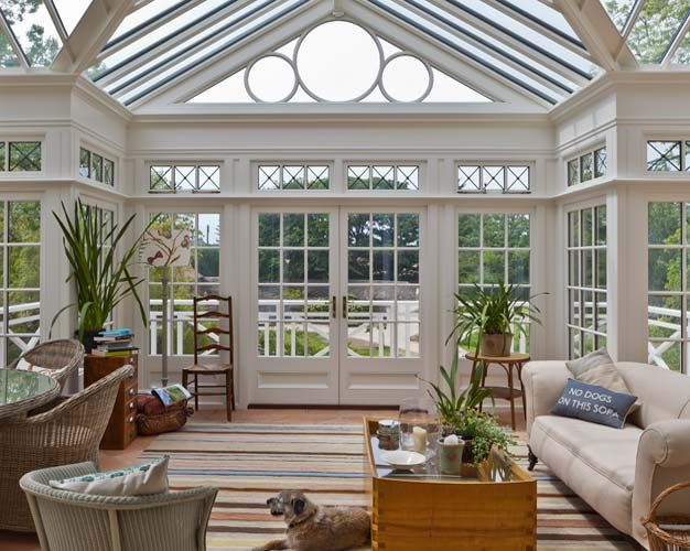 Conservatory Front Windows And Georgian On Pinterest