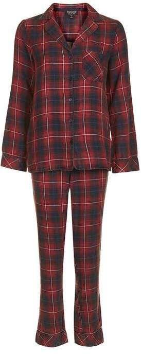 Red check pyjama set