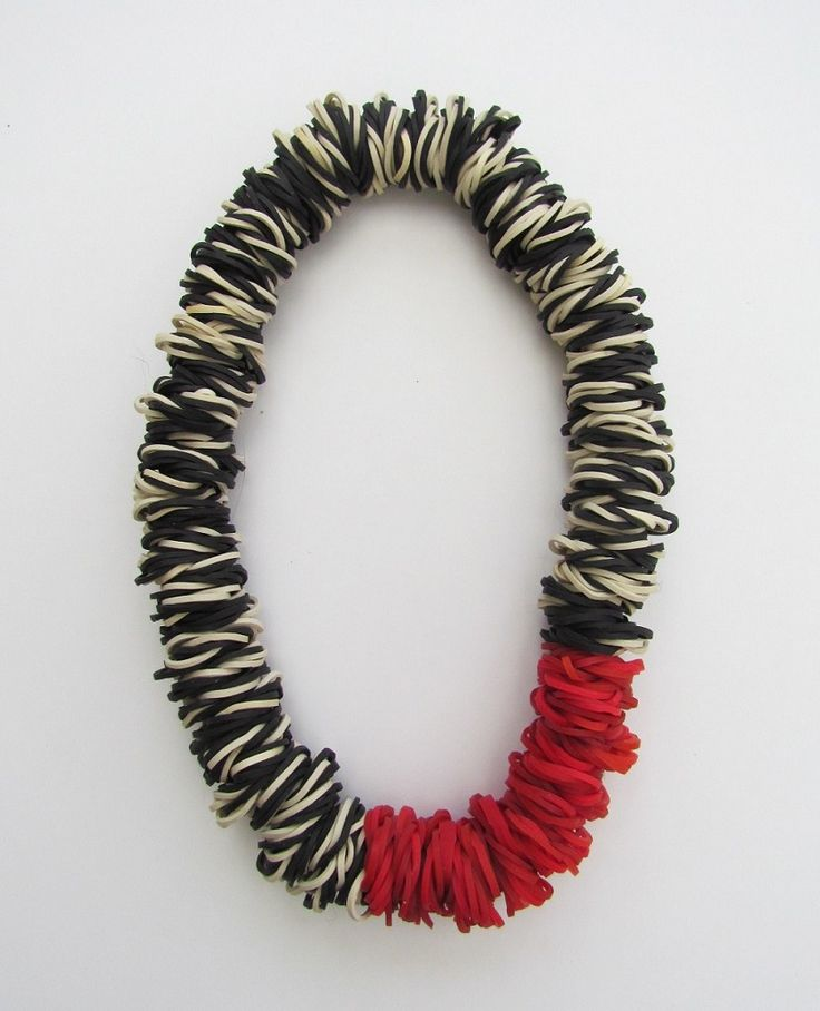 Sustainable Jewellery - rubber necklace