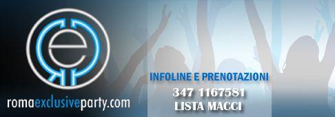 Discoteche Roma è la selezione delle migliori discoteche a Roma. Romaexclusiveparty offre un servizio di lista online, prenotazione tavoli e organizzazione feste private. Contatta il 347 1167581.