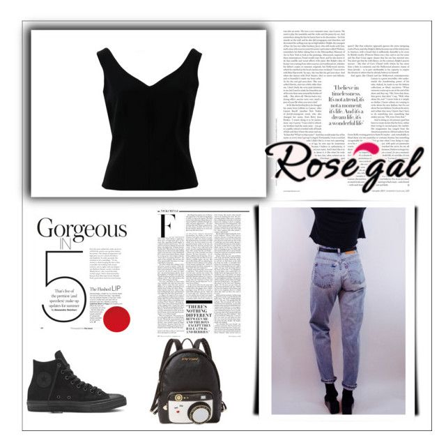 """""""Untitled #2"""" by ivona019 ❤ liked on Polyvore featuring ADAM, Levi's, Betsey Johnson and Nicki Minaj"""