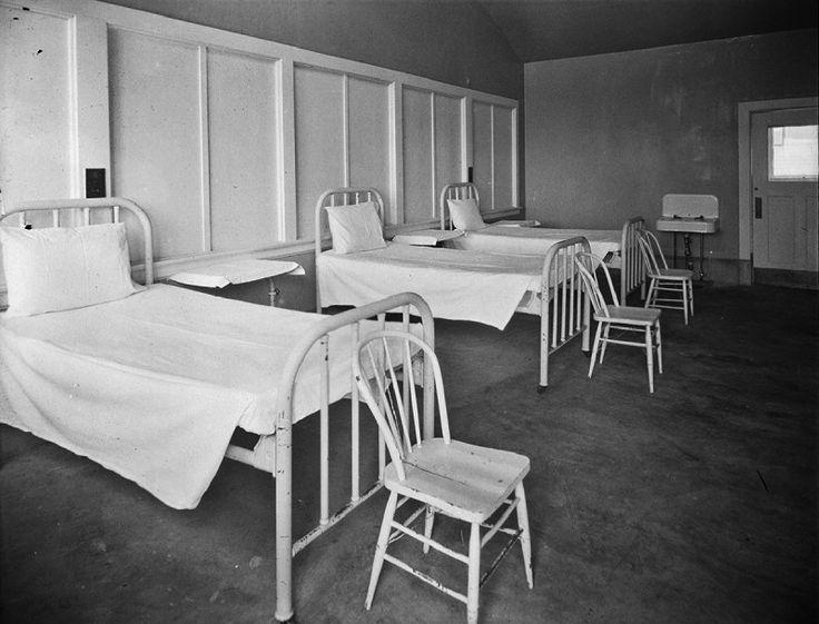 Firland Tuberculosis Hospital beds, 1927 Photo - Visual Hunt