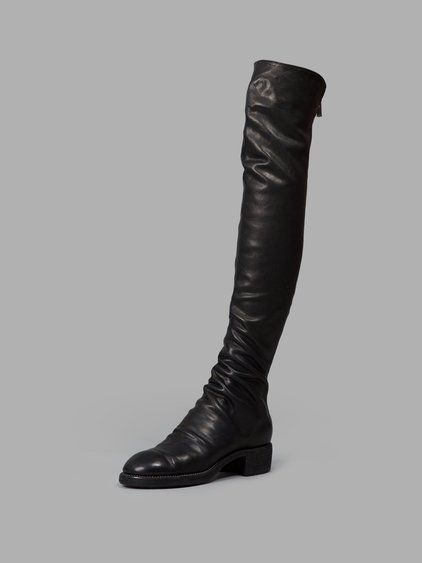GUIDI Guidi Women'S Black Over-Knee Boots. #guidi #shoes #boots