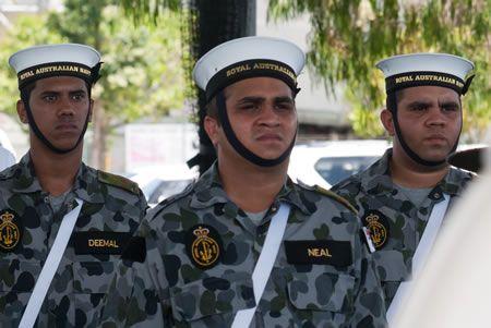 Indigenous Naval personnel