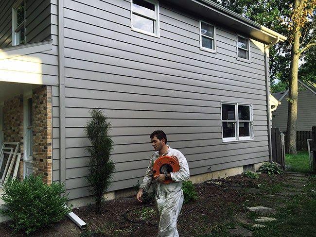 Aluminum House Siding Repair