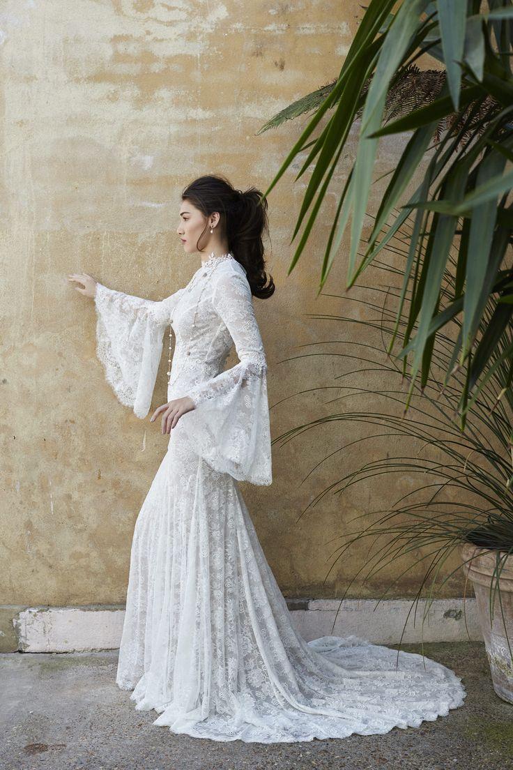 Sienna slip & Selena coat  | Sassi Holford Twenty 17 Collection | Bridal…
