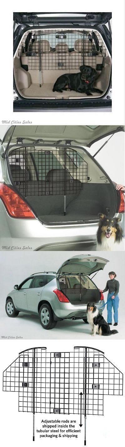 Car Seats and Barriers 46454: Car Pet Barrier Vehicle Dog Fence Cage Gate Safety Mesh Net Auto Travel Van Suv -> BUY IT NOW ONLY: $64.45 on eBay!