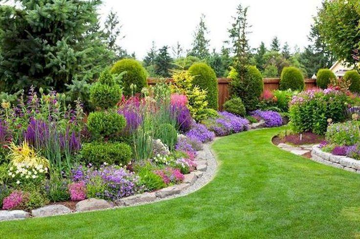 40 Cool Front Yard Garden Landschaftsbau Design-Id…