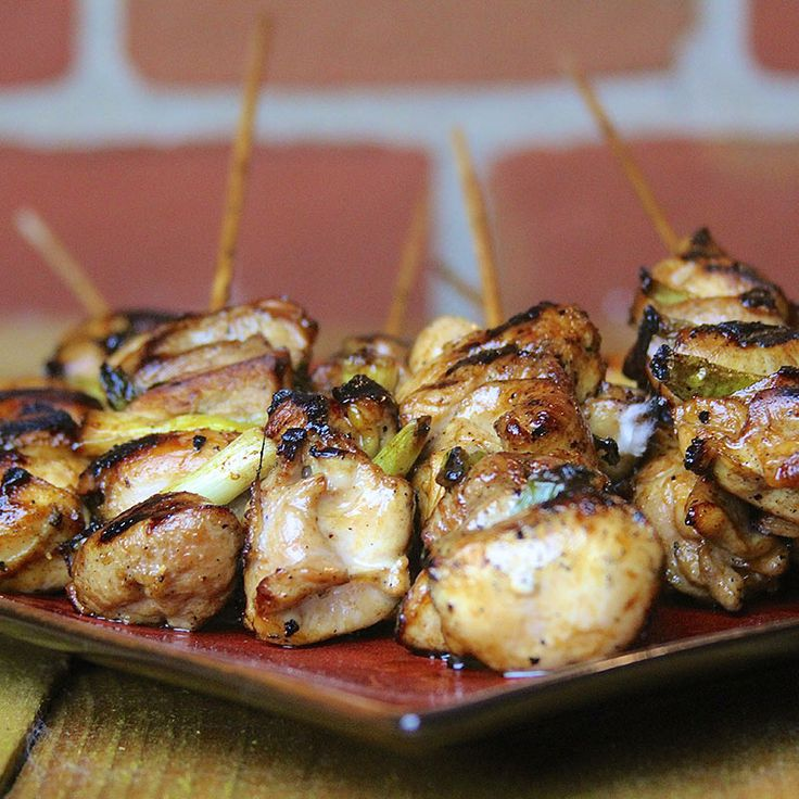 Grilled Chicken Yakitori Recipe | Flash to the streets of Tokyo for the origins of this fast & furious food-on-a-stick.