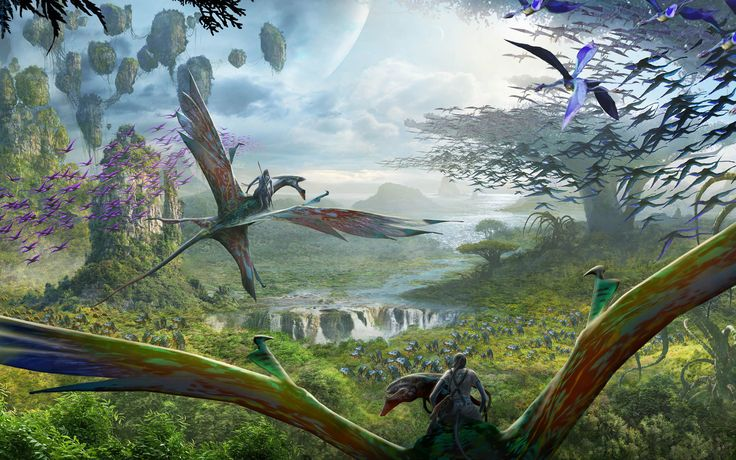 """Find out when you'll be able to go to """"Pandora - The World of Avatar."""""""